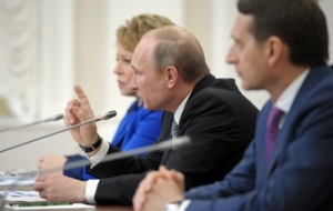 Pushkov said that will remain in the state Duma after the ban parliamentarians to join the HRC