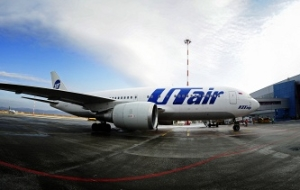 UTair leaves the zone of turbulence