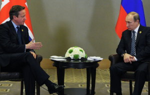 Cameron said Putin the agreement about trade between the EU and Ukraine