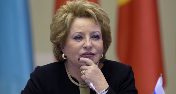 Matviyenko called for the establishment of a Tribunal for the crimes of terrorists