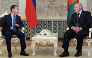 Medvedev and Lukashenka on November 26 in Moscow will discuss investstroyexpo
