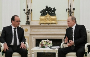Putin: Russia and France are United in their intention to find and punish the criminals