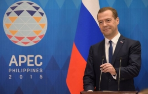 Medvedev arrived in Kuala Lumpur