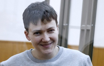 Questioning the victim on the case Savchenko continued without the investigator, who was her business