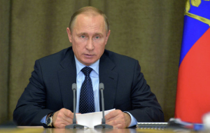 Putin on Wednesday will continue meeting with military leaders