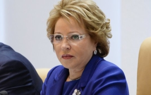 Matviyenko: Mr Putin in the message may affect elections to the state Duma