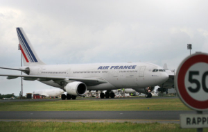 The number of customers Air France declined due to a series of terrorist attacks in Paris