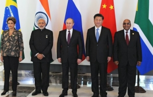 The BRICS leaders noted the importance of the adoption of the IMF reforms