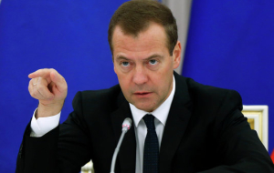 Medvedev: the implementation of anti-crisis plan there is a breach of the terms