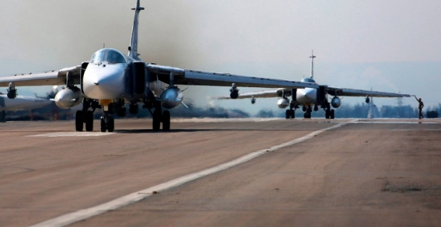 The defense Ministry released a video of Long-range aviation strikes on terrorists in Syria