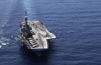 The General staff of the armed forces organizes the cooperation with the French Navy to combat terrorism in Syria