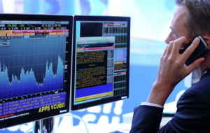 European exchanges opened moderately lower on news from USA