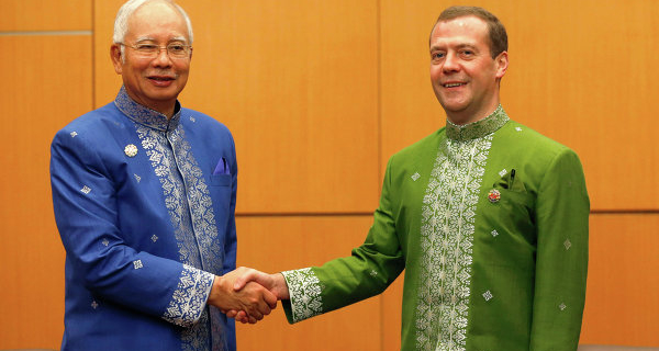 The Prime Minister of Malaysia sees the potential of relations with Russia in the defense and space