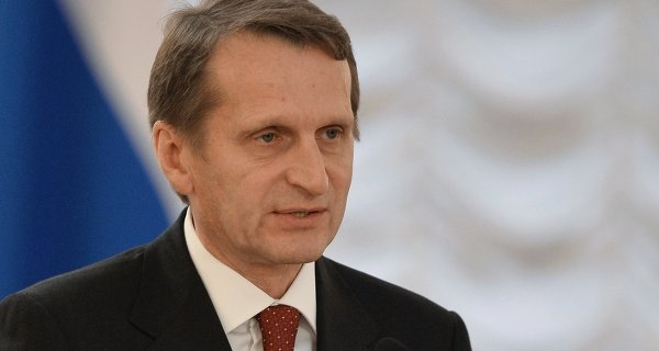 Naryshkin on Friday will take part in the PABSEC General Assembly in Romania