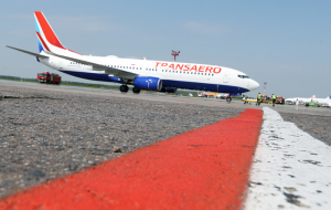 The collapse of shares in Transaero at the peak of fall has reached 80%
