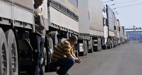 The system of collecting fees from heavy vehicles in Siberia ready