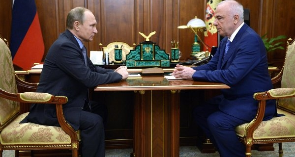 The head of Adygea told Putin on assistance to refugees and economic development