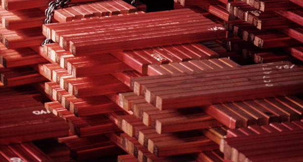 Copper becomes cheaper for weak foreign trade statistics from China