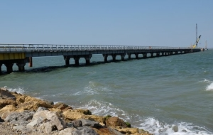The Ministry of transport: the port of Kerch will be able to handle the cargo and in bad weather