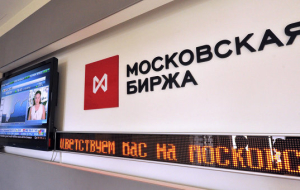 The Russian stock market traded in positive territory amid rising oil prices