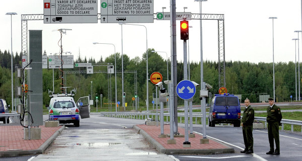 Built together with the EU bridge was opened in the Leningrad region