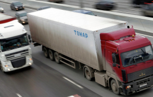 "The movement of heavy trucks after the introduction of ""Plato"" is in operation"