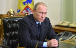 Putin will hold a meeting with members of the Russian security Council and will meet with the head of Adygea