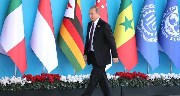 Putin at the G20 talked about the threats to global growth