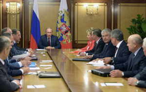 Putin discussed with Russian security Council safety