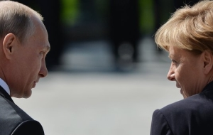 Putin stressed the importance of cooperation between Russia and Germany
