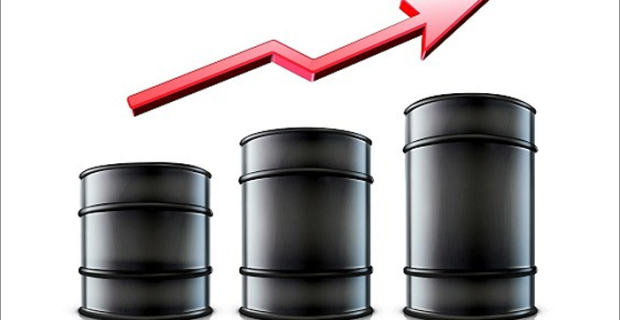 The rise in price of oil WTI for the week was the maximum for a third year