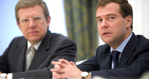 Medvedev held a meeting with former head of the Ministry of Finance Kudrin