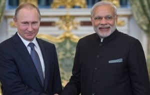 The Russian President and Prime Minister of India appreciated the results of cooperation