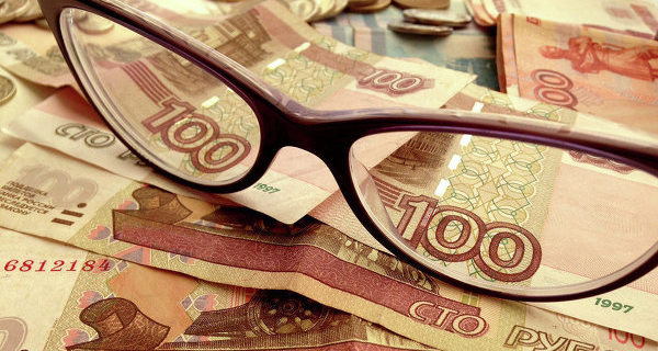 In the morning the ruble was down 55 cents to the dollar and 50 cents to the Euro