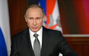 Putin: the West after the collapse of the bipolar system act in any old way