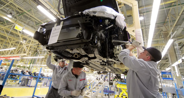 The Nissan Tiida suspended production at Izhevsk