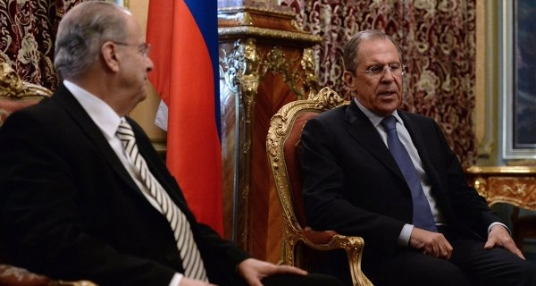 Lavrov arrived in Nicosia on Wednesday will meet with the leadership of Cyprus