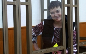 Nadezhda Savchenko went on hunger strike until the end of the court