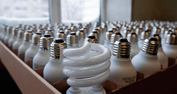 The Crimea will begin to centrally implement energy saving lamp