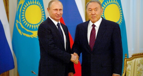 Putin and Nazarbayev discussed the creation of a coalition to combat terrorism