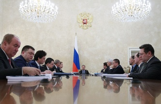 Medvedev instructed the Finance Ministry to prepare proposals on support of VEB