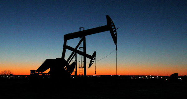 The price of WTI crude oil fell below $35 a barrel