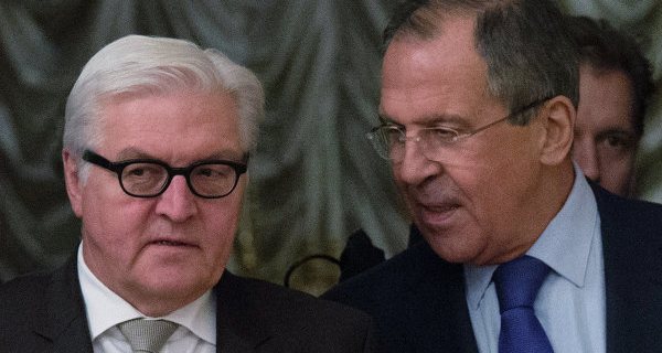 Lavrov and Steinmeier discussed cooperation within the OSCE