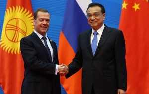 Medvedev believes the main task the establishment of a financial mechanism of the SCO