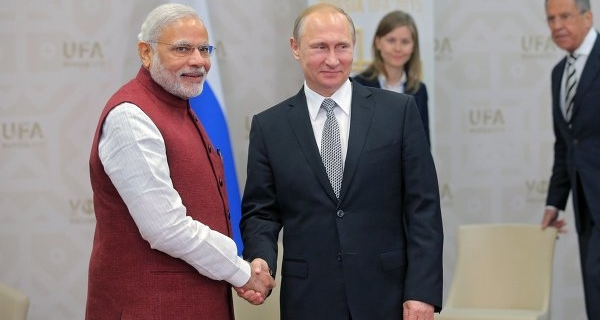 Putin and modi are expected to discuss global and regional issues