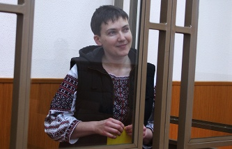 The state prosecutors objected to the granting of protection Savchenko piece of evidence in court