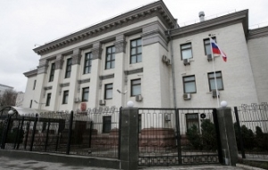 The Russian Embassy in Kiev has received notification of the detention of three Russians
