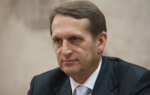 Naryshkin: DG all the factions were responsible for the country's future
