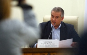 Aksenov: Crimea criticizes the one who actually failed Federal program