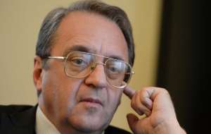 Bogdanov discussed with the Ambassador of Palestine to the development of bilateral relations